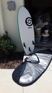 foam softlite surfboard