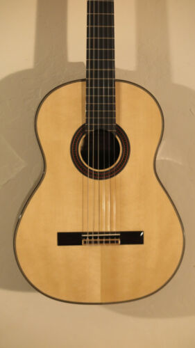 HIll New World 2018 Player Classical Guitar Elevated 650mm w case NEW