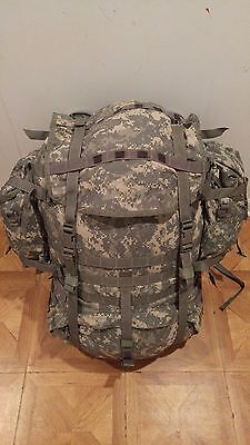ARMY ACU DIGITAL MOLLE II LARGE RUCK SACK FIELD PACK COMPLETE W/ FRAME & POUCHES