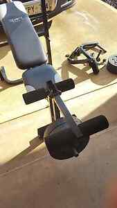 Bench press  with weights Parafield Gardens Salisbury Area Preview