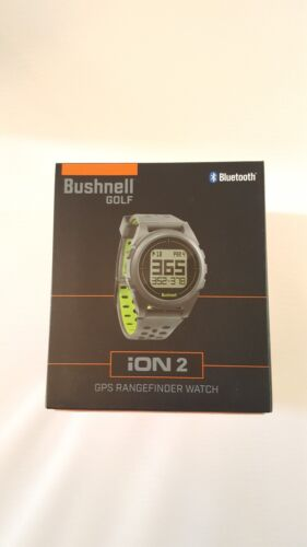 New Bushnell Golf 2018 NEO ION 2 GPS Rangefinder Watch - Sil