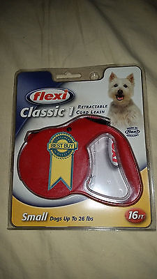 (NEW FLEXI SMALL DOG Retractable Leash 26 LBS 16FT Best Seller German Germany)