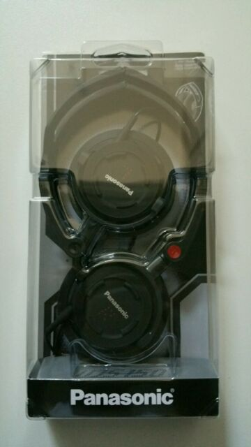 Panasonic Ultra Compact Folding Headphones RP-DJS150 (Black)