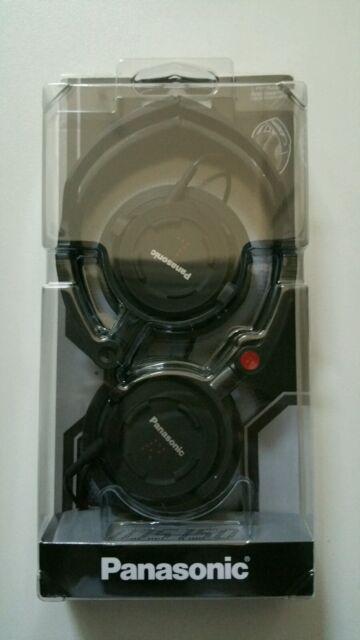 Panasonic Ultra Compact Folding Headphones RP-DJS150 (Black)