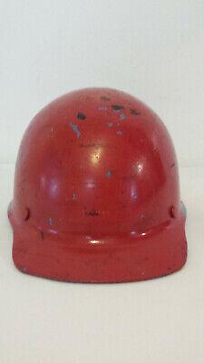 Vintage Msa Skullgard Fiberglass Hard Hat Woriginal Adjustable Suspension Liner