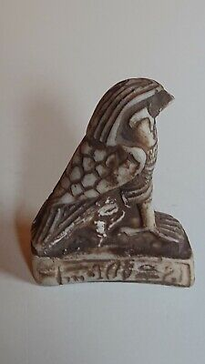 Ancient Egyptian amulet, Horus. 300 BC.