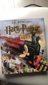 Harry Potter and the Sorcerer's Stone illustrated book