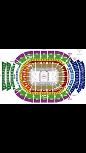 Leafs vs Blues SATURDAY - Centre Ice Red Section 108 - $700/pair