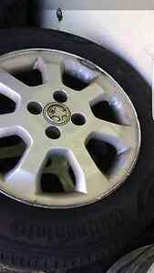 4x holden Astra wheels and spare NEW TYRES Highland Park Gold Coast City Preview