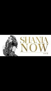 4 Shania Twain tickets Monday June 25th OTTAWA