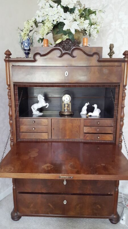 Antique Secretary Desk. . Luebeck Germany.