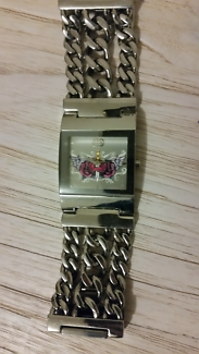 Stainless steal watch -Marc Ecko