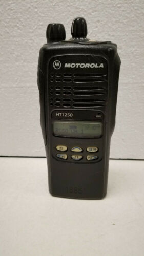 Motorola HT1250 Two Way Radio and Battery  Handi Talkie  136-174MHz