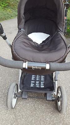 Teutonia Mistral S mit Babykorb & Sportwagen, Adapter für Maxi Cosi Babyschale gebraucht kaufen  Gaggenau