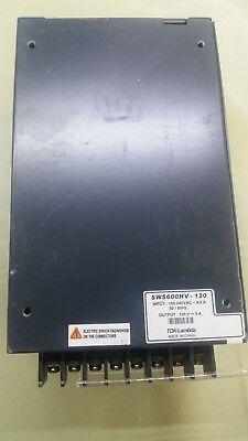 Ac Dc Single Output 600 Watts Sws600hv Tdk-lambda Power Supply 120v 5 A