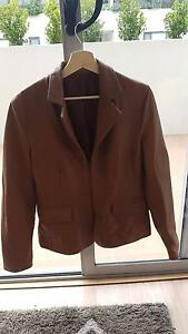 Italian Leather: Tan Women's Jacket Lane Cove Lane Cove Area Preview