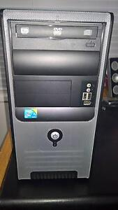 Used! Desktop - Windows 10 - Intel Core Duo Merewether Newcastle Area Preview