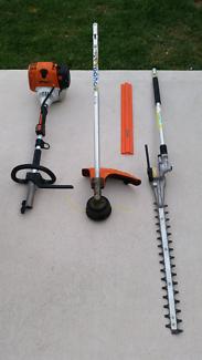 Stihl KM 130R Kombi System Engine + Brushcutter + Hedge Trimmer
