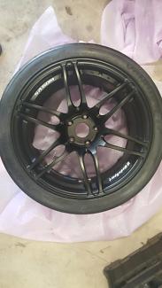 Wheels New Wedsport SA60M 18x10 +20 hankook RS3 265 35 18