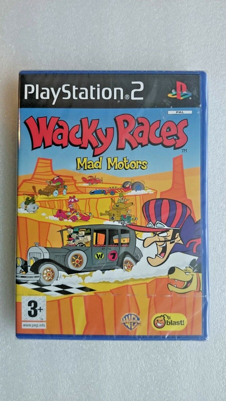 Wacky Races Starring Dastardly and Muttley (Sony PlayStation 2, 2001)