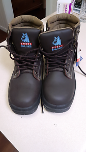 STEEL CAP WORK BOOTS SIZE 7 Ascot Belmont Area Preview
