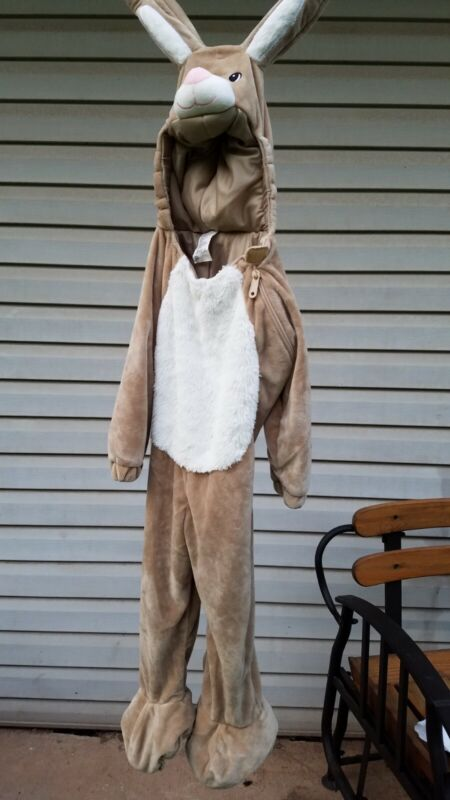 12 To 24 Months Toddler Warm Zip Open face  Bunny Halloween Costume