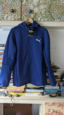 *BNWT* PUMA DryCell Tech Fitted Tracksuit SMALL ROYAL BLUE SLIM FIT RRP £60