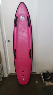 Pink foam nipper board