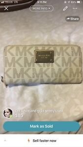 MK authentic wallet gently used