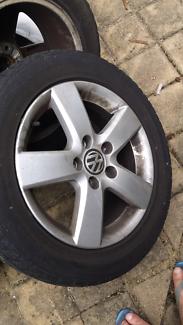 VW Golf 4 wheels. 205/55 ZR16