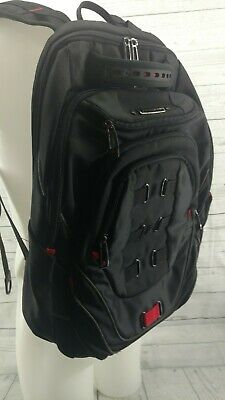 Samsonite Luggage Tectonic Backpack, Black Red