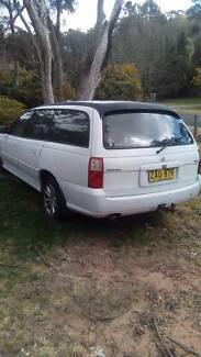 Unregistered 2003 Holden commodore