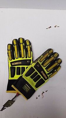 Ringers Gloves R-297 Roughneck Kevloc Heavy Duty Impact Work Gloves 2-xl