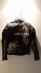 Alpinestars Stella leather sports motor jacket Freshwater Manly Area Preview
