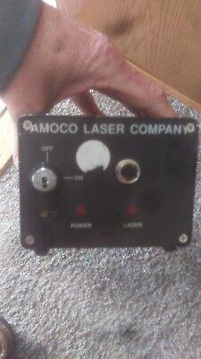Vintage Amoco Laser Company Laser Missing Key Model- Alc D200