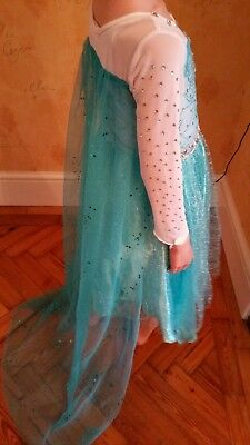 Girls princess fancy dress with train 110cm Samigami - Frozen Baby Kostüme