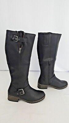 90d9821e19a0b SO Women s Boots Black Size 6 Long Riding Winter Boots ~ retail  79.99~ NWT