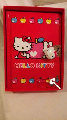 Sanrio Hello Kitty Diary Journal with Lock Key 2003