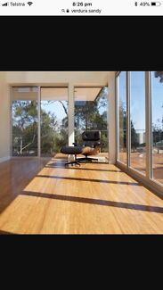 Bamboo floor boards