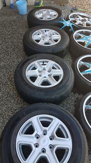 "Ford ranger 17"" alloy & 20"" sex spec wheels"