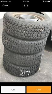 Camry winter tires and rims