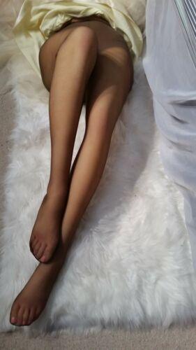 "My Pantyhose ""Esteem"" Ultra Sheer  ""Jet Brown"" center seam crotch, Size Med/Tall"