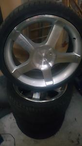 Commodore 19 inch mag wheels Blackmans Bay Kingborough Area Preview