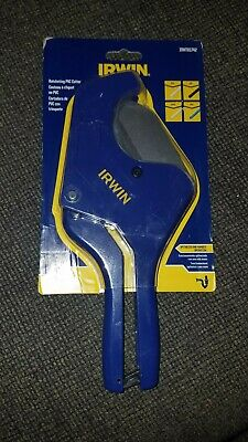 Irwin 2.5 Ratcheting Pvc Pex Multipurpose Cutter Irht81742