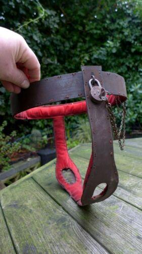 Antique Vintage Female Chastity Belt Collector Valentine Gift Idea Rare Heart