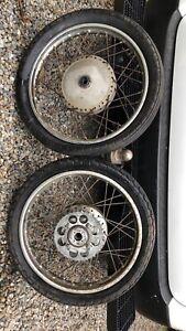 Honda cb350 cb250 wheels