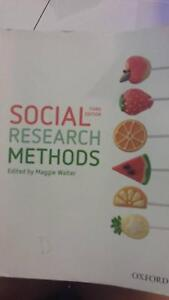 Social Research Methods 3rd Edition by Maggie Walter Currimundi Caloundra Area Preview