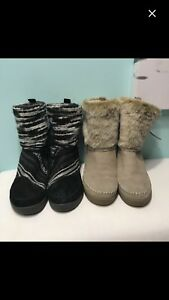Two pairs of Toms Nepal boots