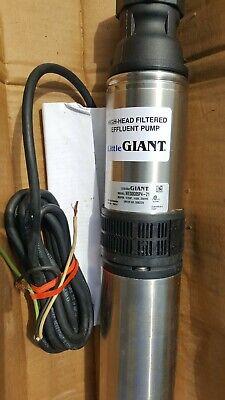 High head filtered effluent pump High Head Pump