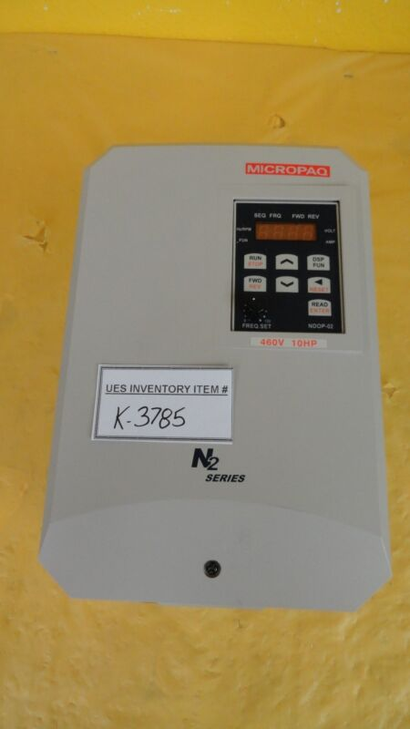 Micropaq CSD-410-N Varible Frequency Drive N2 Series Used Working